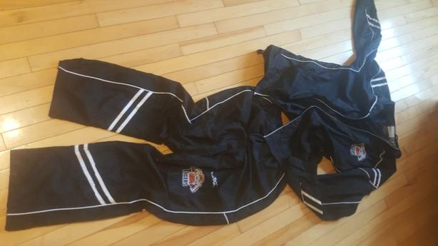 Charlottetown Tigers track suit