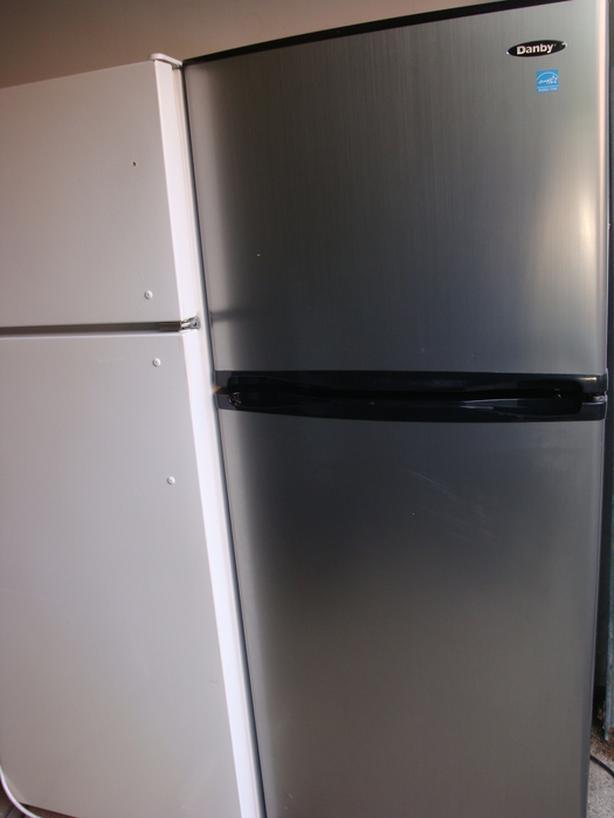 Danby Energy Star apartment size stainless steel fridge ,
