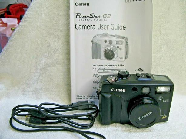 Canon G2 camera parts