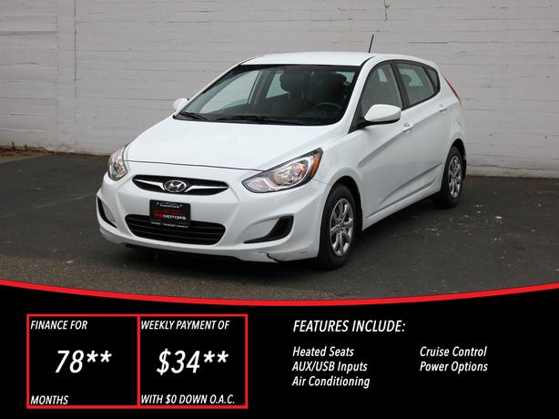 2013 Hyundai Accent GL - HEATED SEATS!