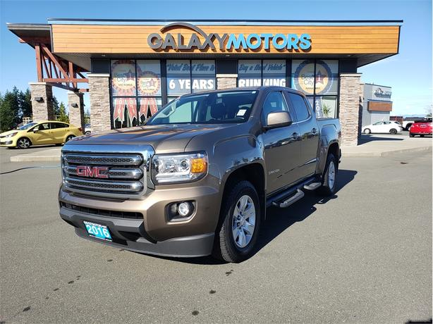 2016 GMC Canyon 2WD SLE - Crew Cab, Running Boards, Back-Up Camera