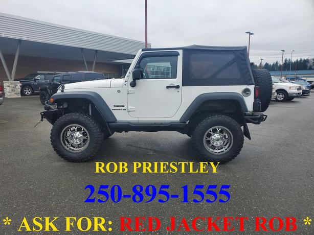 2015 JEEP WRANGLER SPORT 4X4 * ask for RED JACKET ROB *