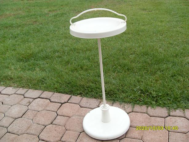 Antique Metal Ashtray Stand