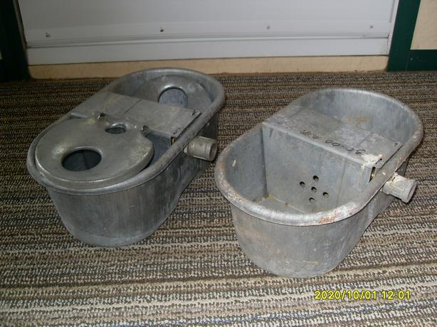 Antique Water Buckets for Animal