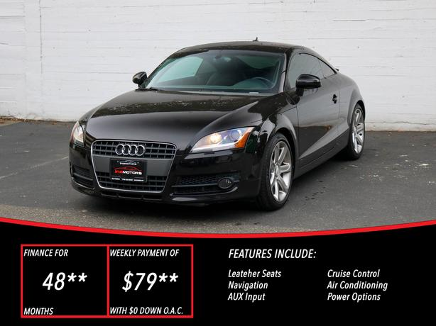 2009 Audi TT AWD 2.0T - LOCAL BC COUPE!