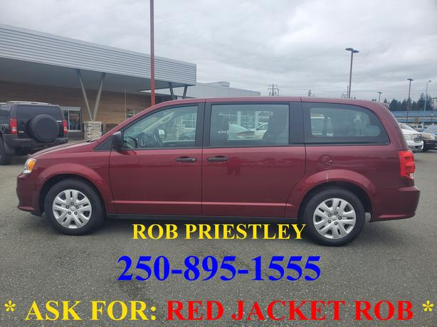 2018 DODGE GRAND CARAVAN CVP * ask for RED JACKET ROB *