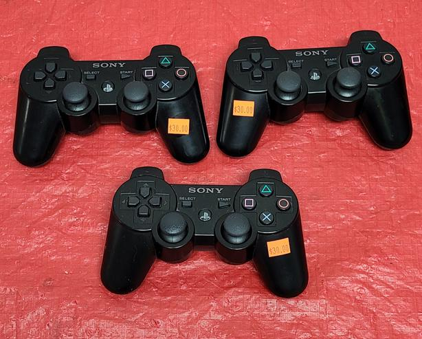 Official Sony Dualshock Wireless PS3 Controllers
