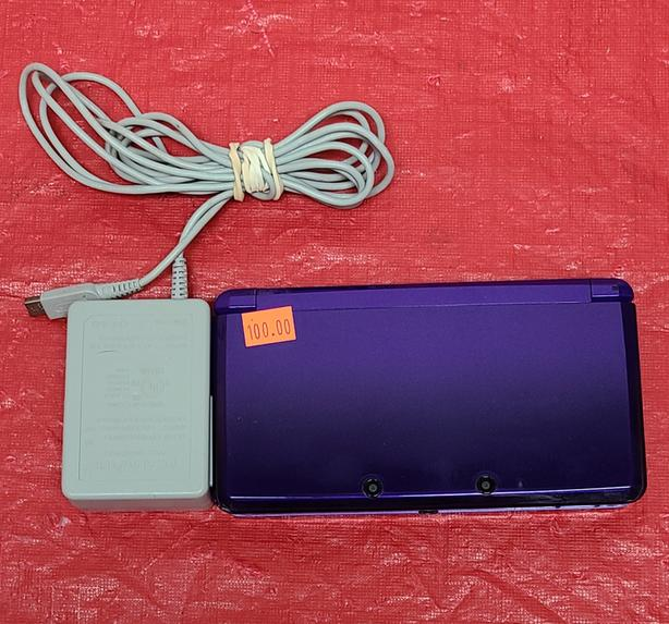 Purple Nintendo 3DS Console