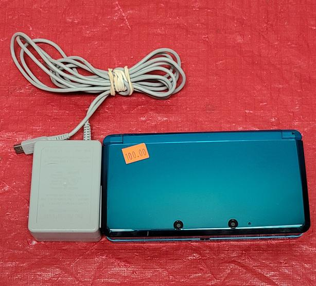 Teal Nintendo 3DS Console