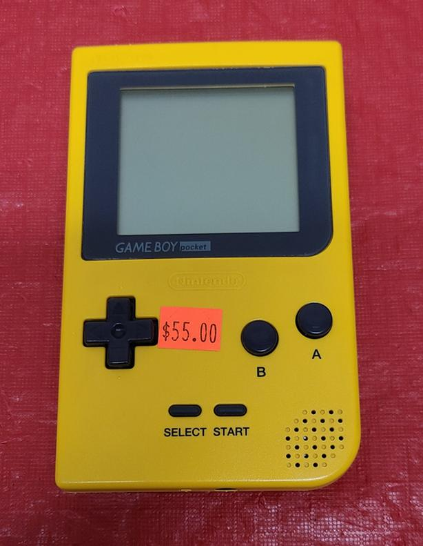 Yellow Gameboy Pocket Console
