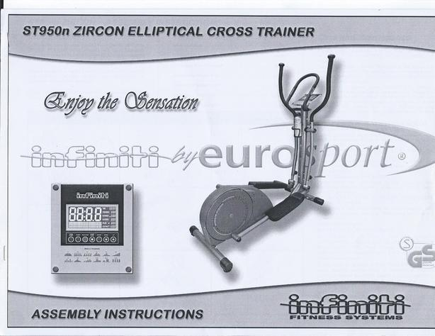 Cross Trainer Elliptical by Eurosport