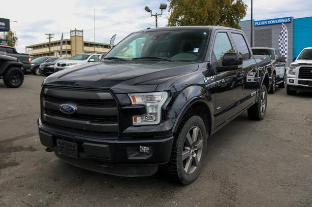 2016 Ford F-150 Lariat FX4 - LOCAL BC TRUCK - NO ACCIDENTS!