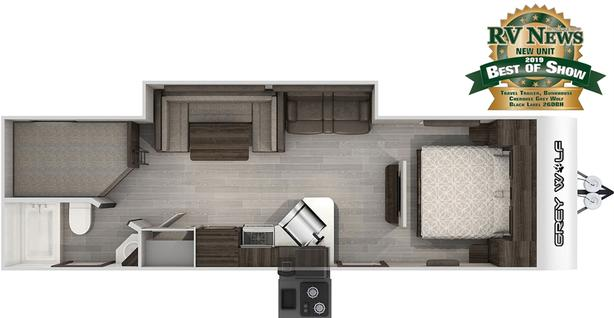 2021 Forest River Cherokee 26DBH  VIRTUAL TOUR AVAILABLE!!