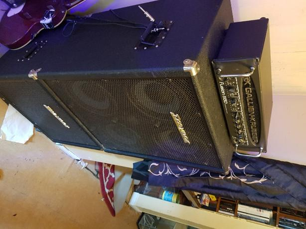 BASS GUITAR PRO RIG FOR SALE. ASKING 1600
