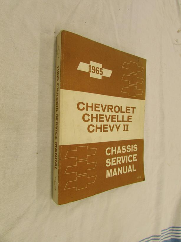Chevelle Shop Manuals