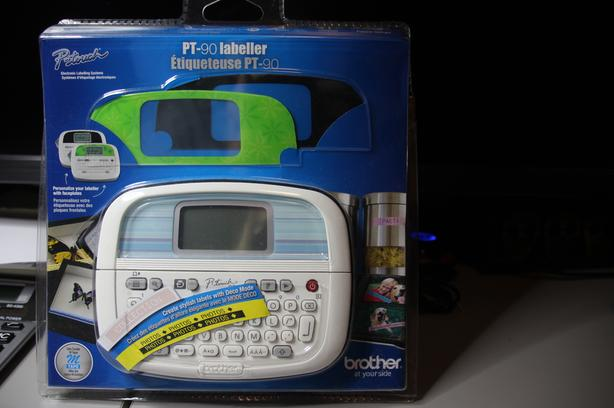 Ptouch Label Printer New