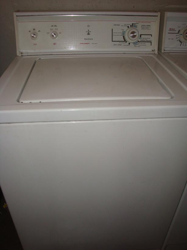 Kenmore extra large capacity washer
