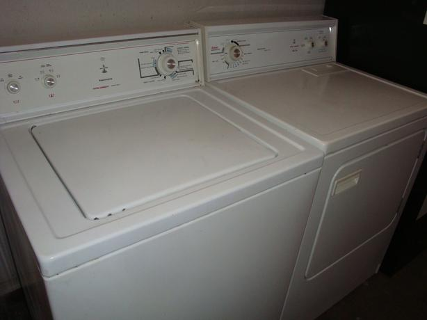 Kenmore extra large capacity washer and dryer