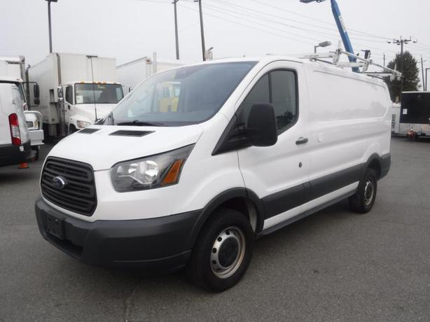 2016 Ford Transit 250 Van Low Roof with Rear Shelving and Ladder Rack 130-in. Wh