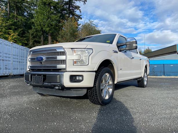 2016 Ford F150 supercrew Platinum 4WD!!**We've got your financing!!**