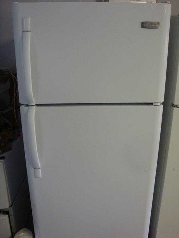 """Frigidaire fridge, 29 3/4"""" wide and 65 3/4"""" height"""