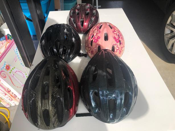 FREE: Kids bike helmets