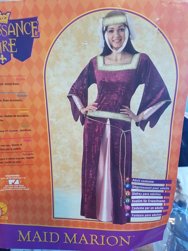 Halloween Renaissaince costume