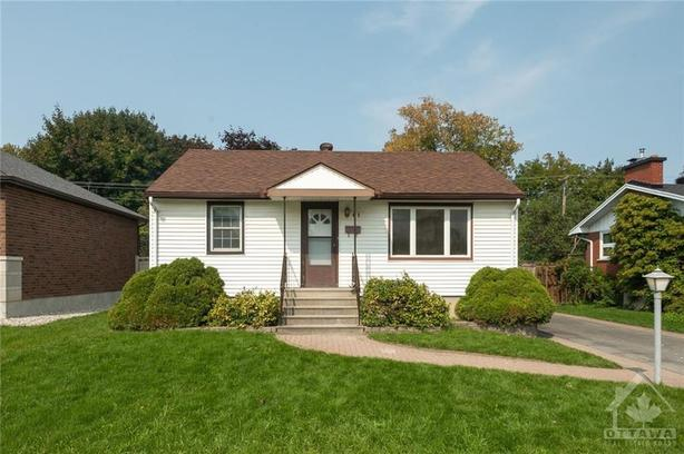 Desirable Bungalow in the heart of Ottawa West.