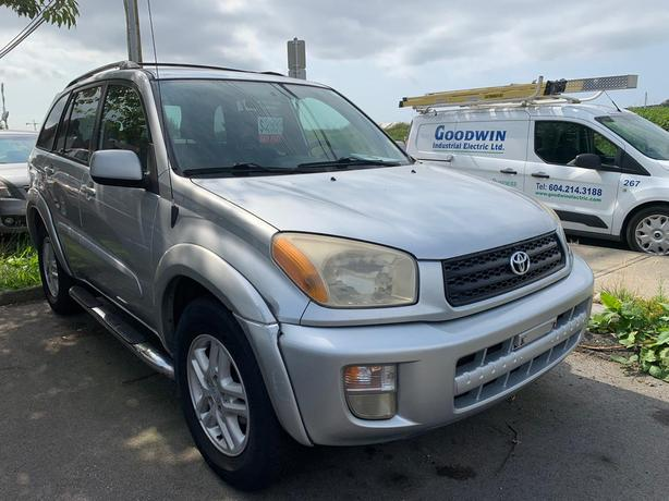 2002 Toyota Rav4 2WD ☎CALL (OR) TEXT: 778-955-9873
