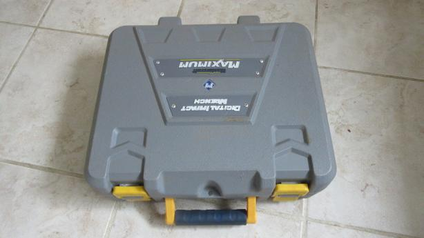 Mastercraft impact wrench case