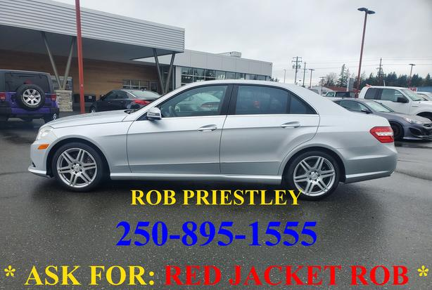 2010 MERCEDES BENZ E CLASS E550 * ask for RED JACKET ROB *