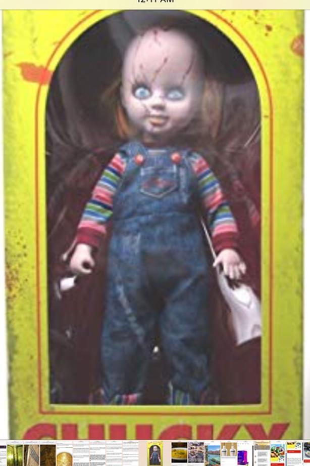 Chunky living dead doll