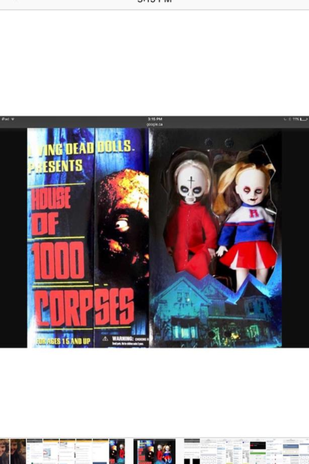 Living dead dolls house of 1000 corpses