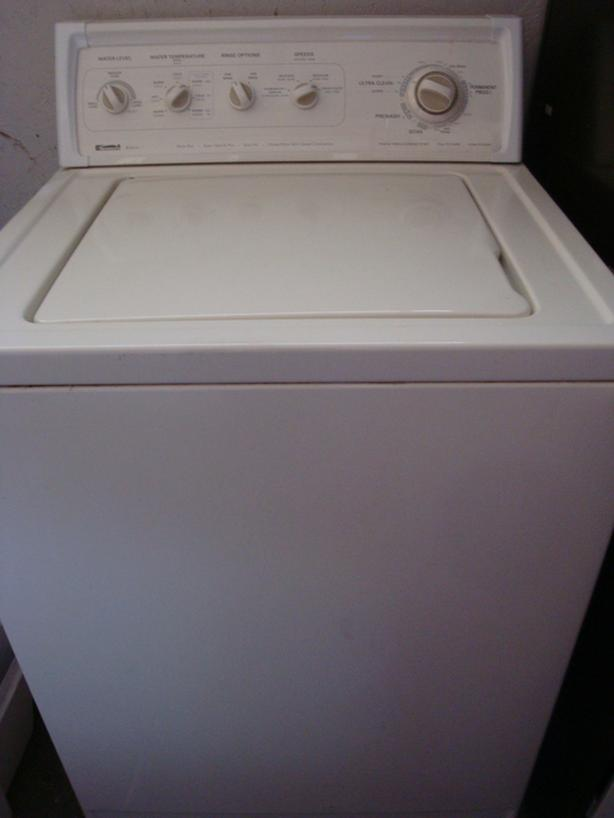 Kenmore heavy duty super capacity plus washer, direct drive motor