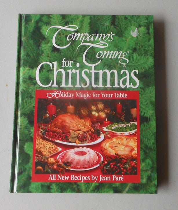 Company's Coming for Christmas cookbook cook book Jean Pare