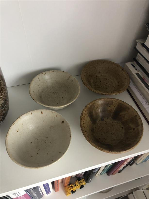 Ron Roy Pottery Bowls x4