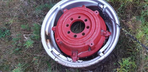 Massey's tire weighs