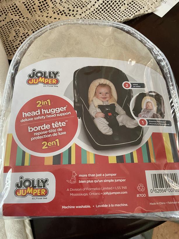 Car seat head cushion