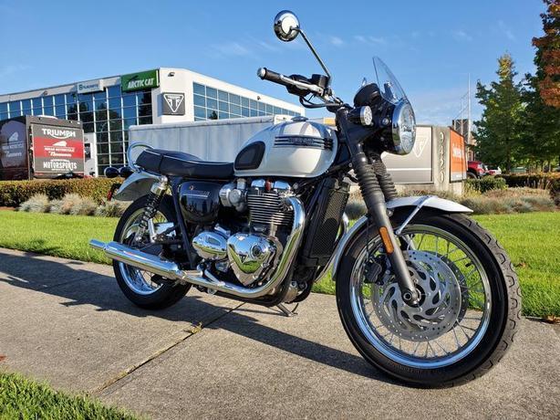 2020 Triumph Bonneville T120 Diamond Edition Snowdonia White