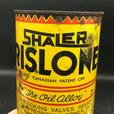 RARE 1940's VINTAGE SHALER RISLONE MOTOR OIL IMPERIAL QUART CAN