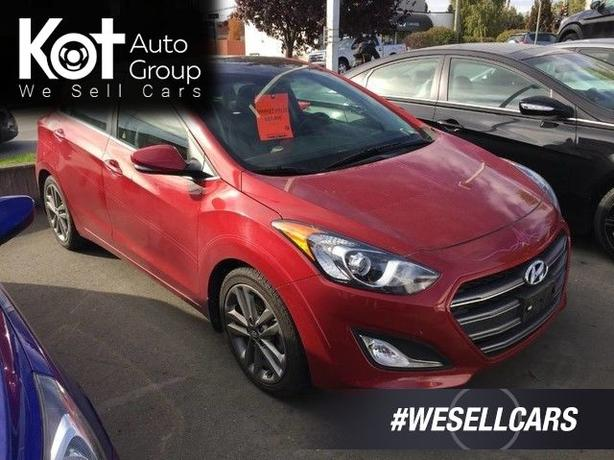 Pre-Owned 2016 Hyundai Elantra GT Limited Front Wheel Drive Hatchback