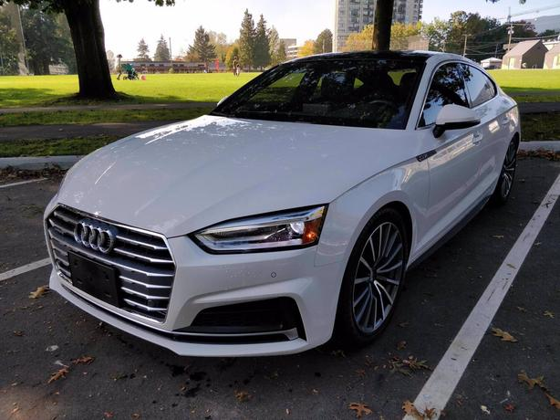 Pre-Owned 2019 Audi A5 2.0 Progressiv quattro 4D Hatchback