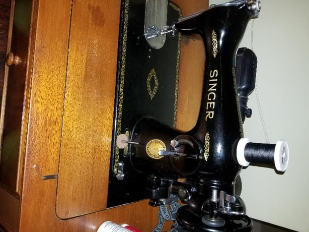 Vintage fully serviced sewing machine