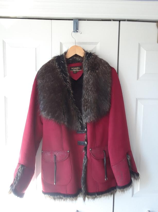 Woman's short winter coat