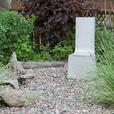 Concrete Chair, Outdoor/Indoor Sculpture
