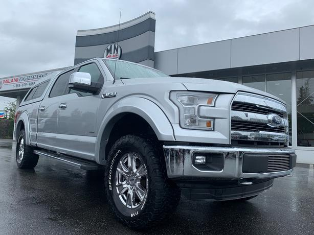 Used 2016 Ford F-150 Lariat 4WD ECO-BOOST NAVI CAMERA CANOPY Truck SuperCrew Cab