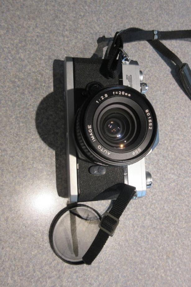 Vintage Canon FTb SLR film camera