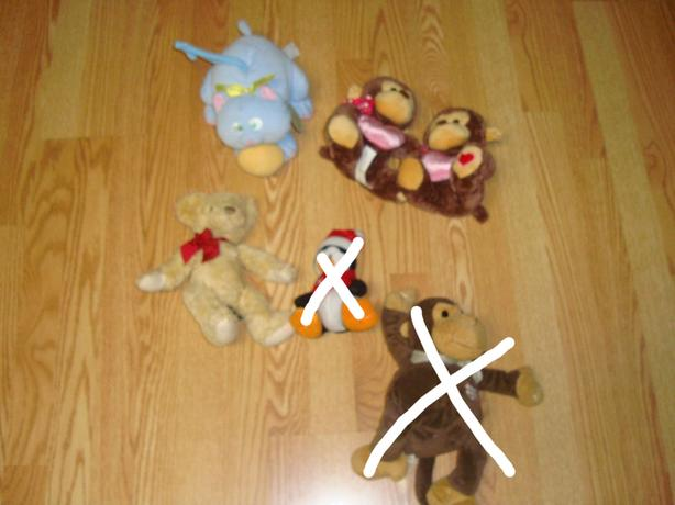 Many Plush Stuffies and Toys - Starting at $1 each