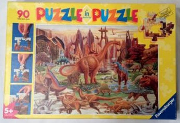 Ravensburger 90 Piece Dinosaur Puzzle in a Puzzle - $24