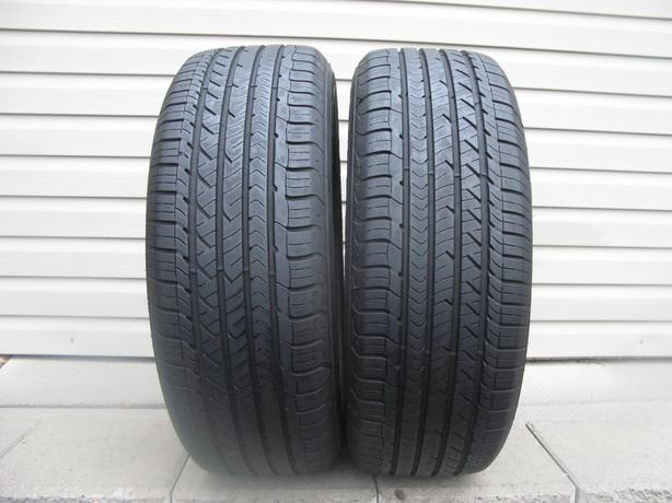 TWO (2) GOODYEAR EAGLE SPORT TIRES /215/60/16/ - $40